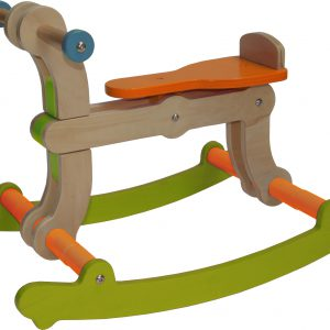 Swing Up - Rocking Horse 02 green