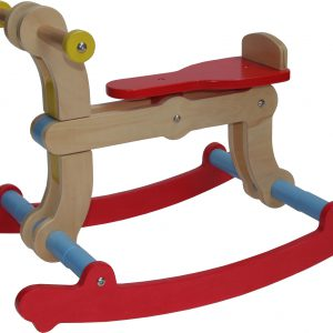 Swing Up - Rocking Horse 02 red