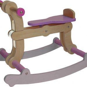 Swing Up - Rocking Horse 02 white